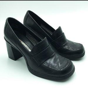 90s Platform Loafers